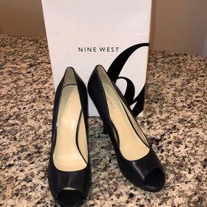 Nine West Fluter Heels- Nocturne (Navy)